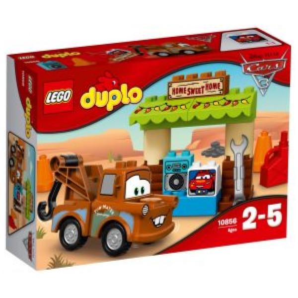 Lego Duplo Cars Tm - Bärgarns Skjul - 10856 från Lego