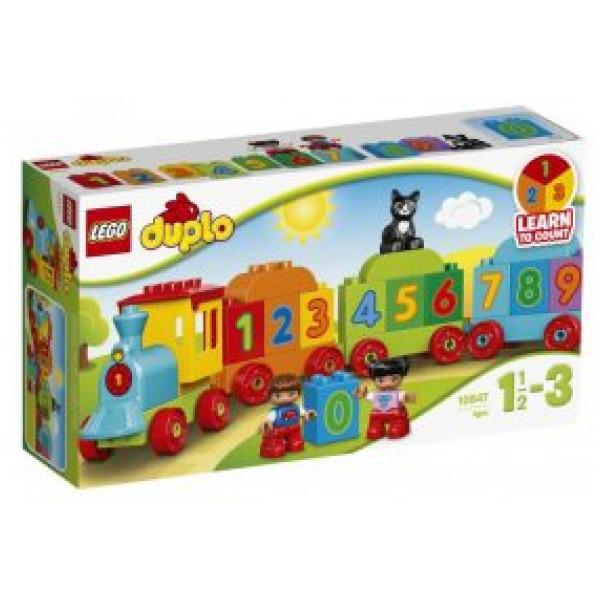 Lego Duplo My First - Siffertåg - 10847 från Lego