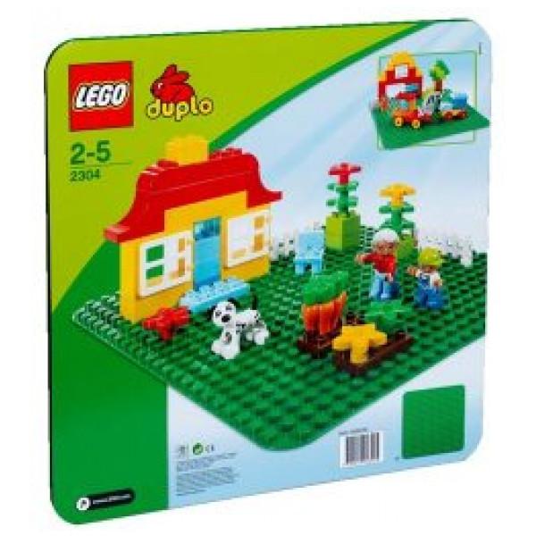 Lego Duplo My First - ® Stor Grön Byggplatta - 2304 från Lego