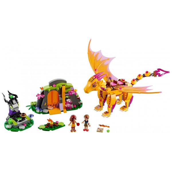 Lego Elves - Fire Dragon's Lava Cave 41175 från Lego