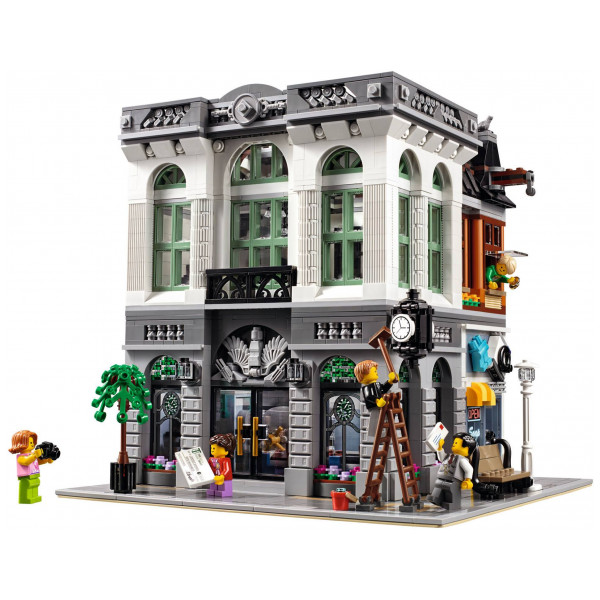 Lego Exclusive - Brick Bank 10251 från Lego