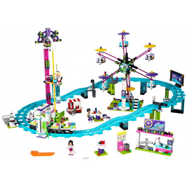 Lego Friends - Amusement Park Roller Coaster 41130 från Lego