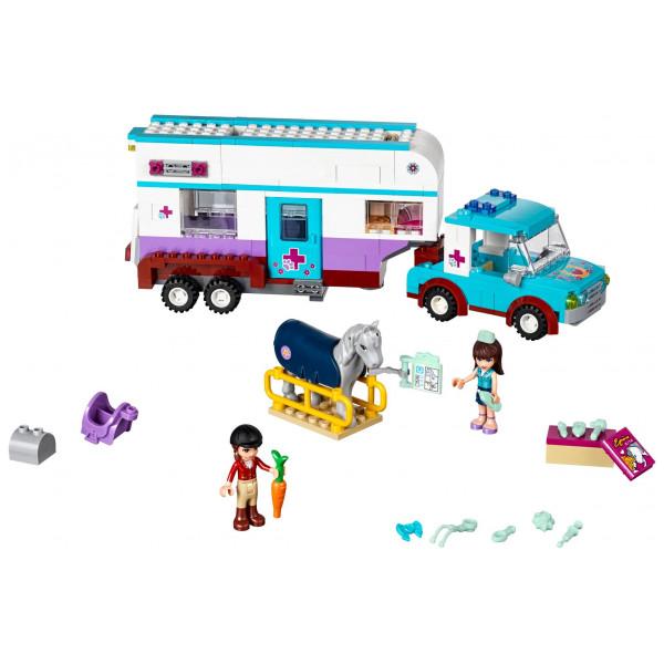 Lego Friends - Horse Vet Trailer 41125 från Lego