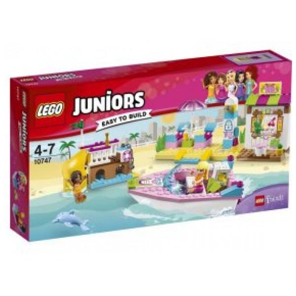 Lego Juniors - Andreas Och Stephanies Strandsemester - 10747 från Lego