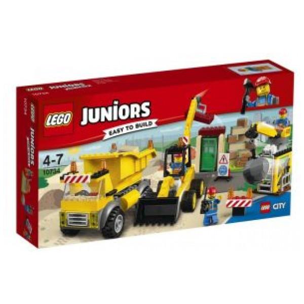 Lego Juniors - Rivningsplats - 10734 från Lego