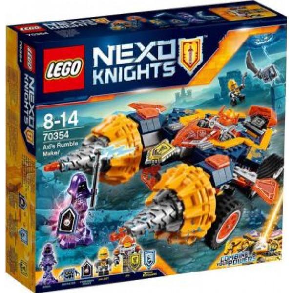 Lego Nexo Knights - Axls Dundergörare - 70354 från Lego