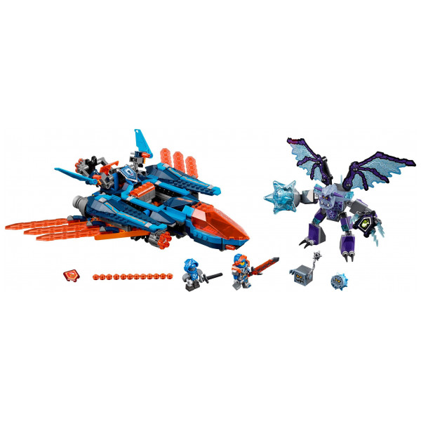 Lego Nexo Knights - Clay's Falcon Fighter Blaster 70351 från Lego