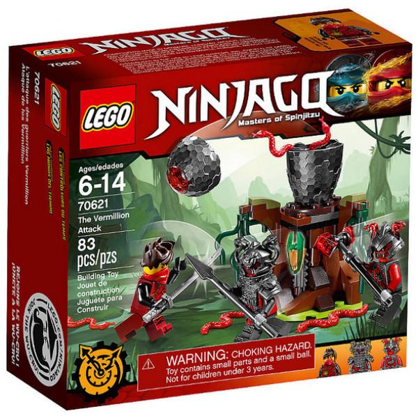 Lego Ninjago 70621 Vermillionanfall från Lego