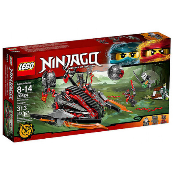 Lego Ninjago 70624 Vermillioninkräktare från Lego
