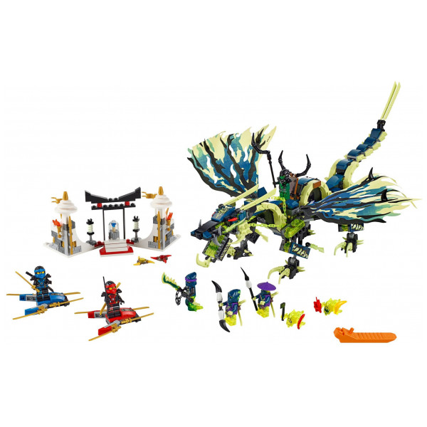 Lego Ninjago Lego Attack Of The Morro Dragon 70736 från Lego ninjago