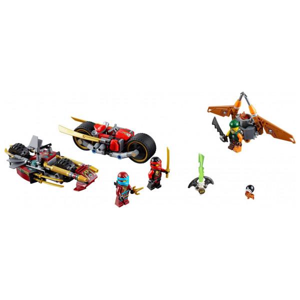 Lego Ninjago Lego Ninja Bike Chase 70600 från Lego ninjago