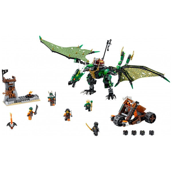 Lego Ninjago - The Green Nrg Dragon 70593 från Lego