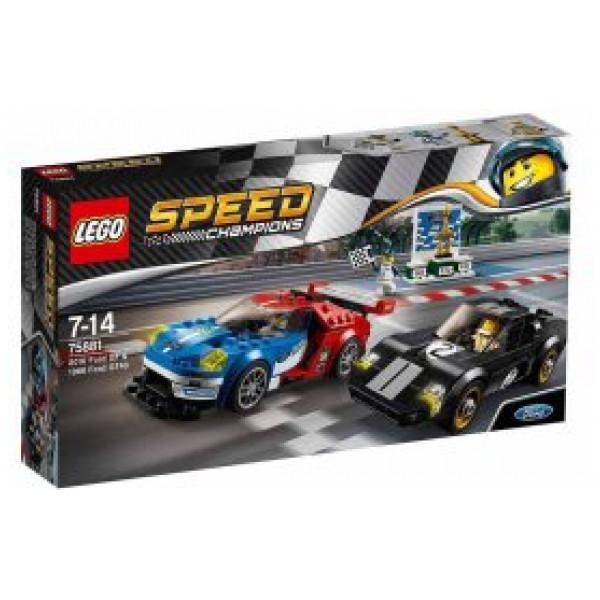 Lego Speed Champions - 2016 Ford Gt Och 1966 Ford Gt40 - 75881 från Lego