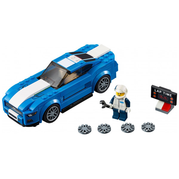 Lego Speed Champions Lego Ford Mustang Gt 75871 från Lego speed champions