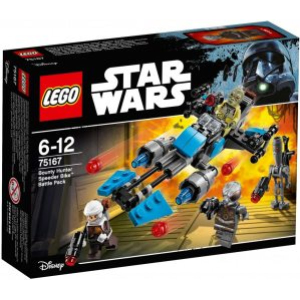Lego Star Wars Tm - Bounty Hunter Speeder Bike Battle Pack - 75167 från Lego