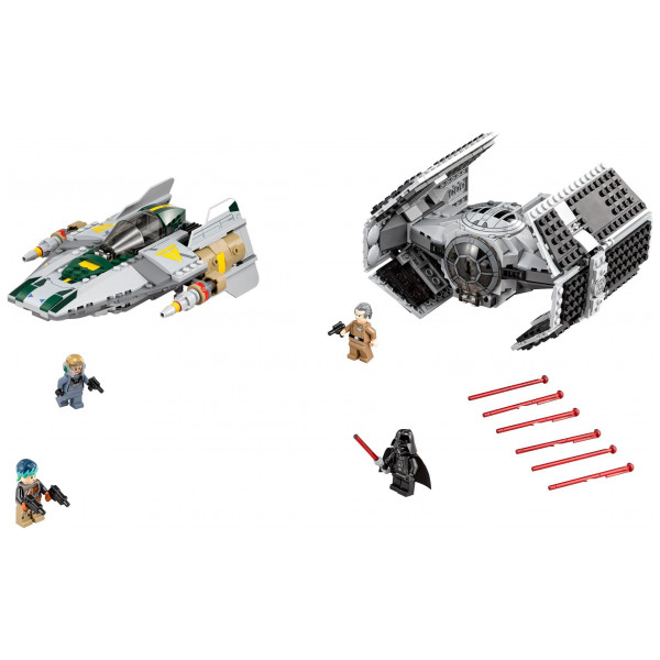 Lego Star Wars - Vader's Tie Advanced Vs A-Wing Starfighter 75150 från Lego