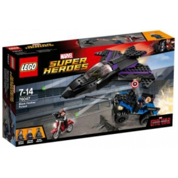Lego Super Heroes - Black Panther Pursuit - 76047 från Lego