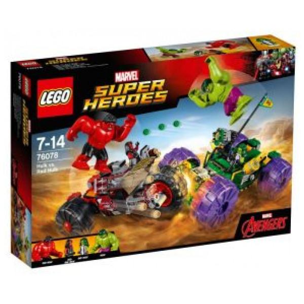 Lego Super Heroes - Hulk Mot Red Hulk - 76078 från Lego