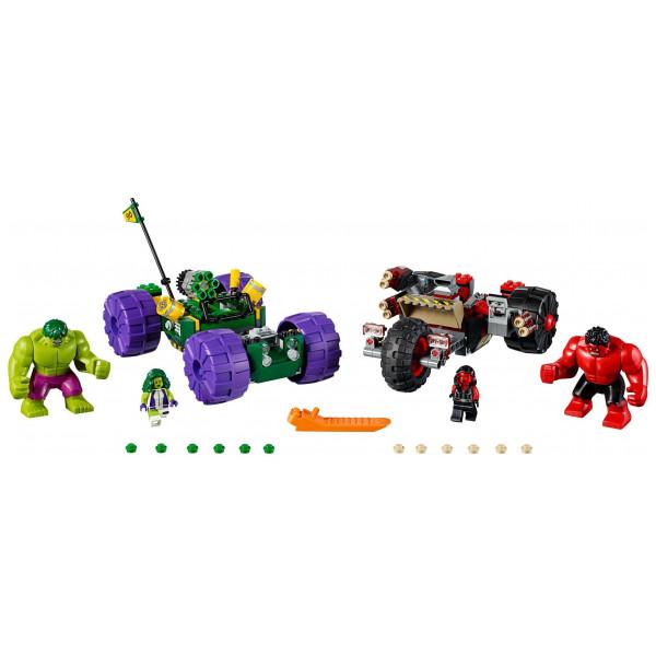 Lego Super Heroes Lego Hulk Vs Red Hulk 76078 från Lego super heroes