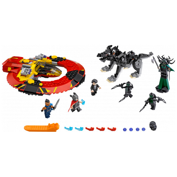 Lego Super Heroes Lego The Ultimate Battle For Asgard 76084 från Lego super heroes