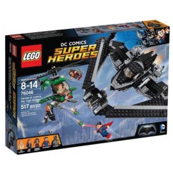 Lego Super Heroes - Rättvisans Hjältar Höghöjdsstrid - 76046 från Lego