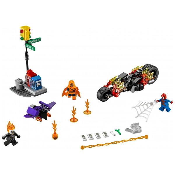 Lego Super Heroes - Spider-Man Ghost Rider Team-Up 76058 från Lego