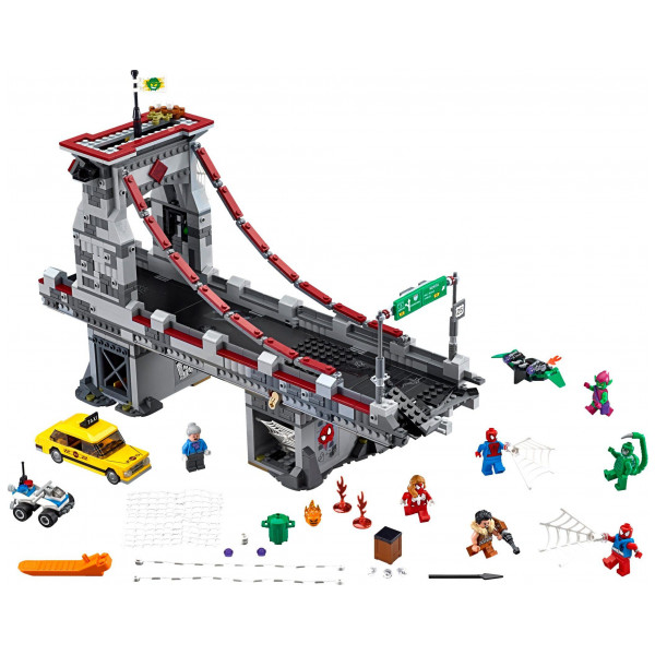 Lego Super Heroes - Spider-Man Web Warriors Ultimate Bridge Battle 76057 från Lego