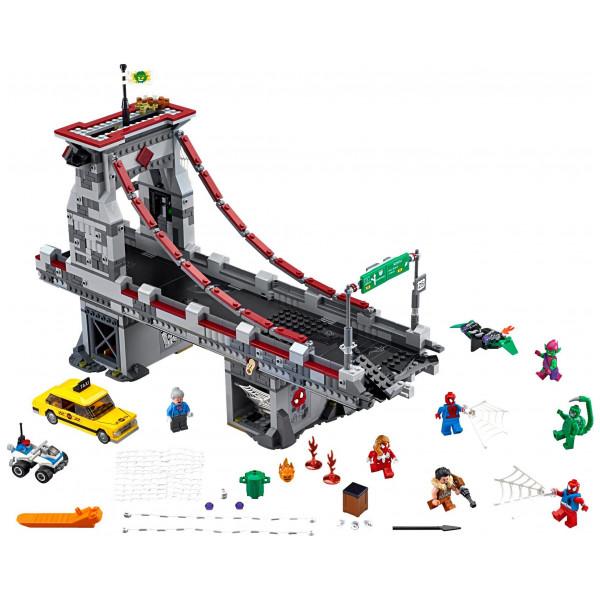 Lego Super Heroes - Spider-Man Web Warriors Ultimate Bridge Battle 76057 från Lego