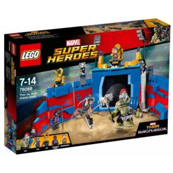 Lego Super Heroes - Thor Mot Hulk Arenadrabbning - 76088 från Lego