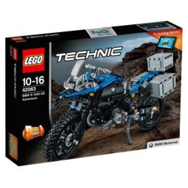 Lego Technic - Bmw R 1200 Gs Adventure - 42063 från Lego