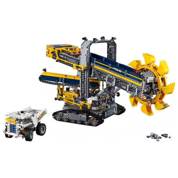 Lego Technic - Bucket Wheel Excavator 42055 från Lego