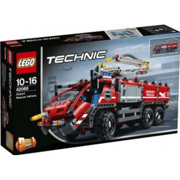 Lego Technic - Flygplatsbrandbil - 42068 från Lego
