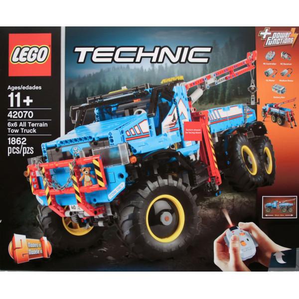 Lego Technic Lego 6X6 All Terrain Tow Truck 42070 från Lego technic