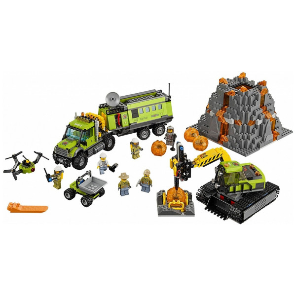 Lego Volcano Exploration Base 60124 från Lego