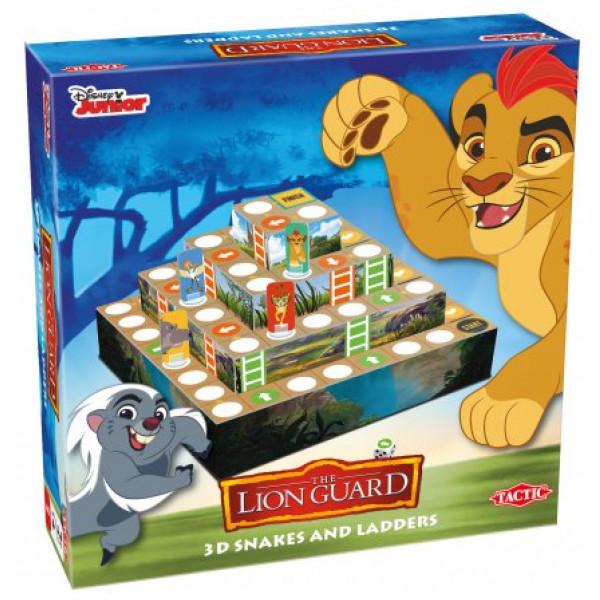 Lejonvakten Lion Guard 3D Snakes & Ladders från Lejonvakten