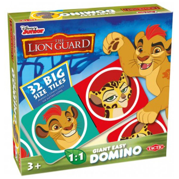 Lejonvakten Lion Guard Giant Easy Domino från Lejonvakten
