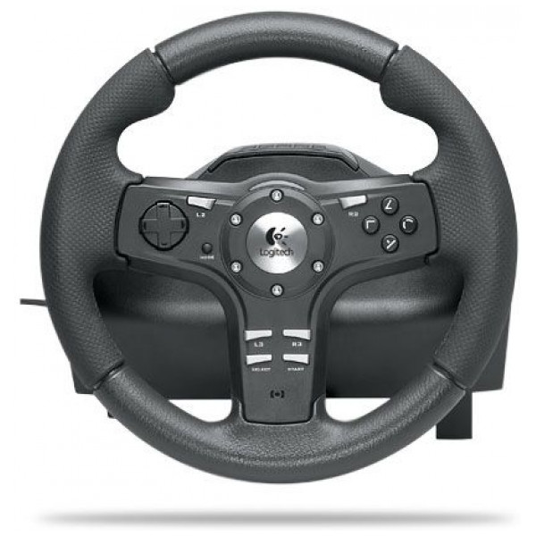 Logitech Tv-Spel Wheel Driving Force Ex For Ps3 And Ps2 från Logitech
