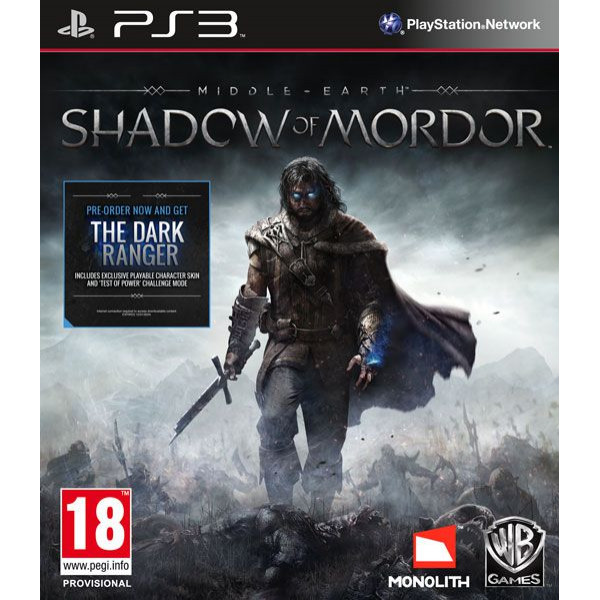 Lord Of The Rings Tv-Spel Middle-Earth Shadow Of Mordor från Lord of the rings