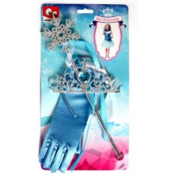 Maskerad Ice Princess Handskar Och Tillbehör från Inget märke
