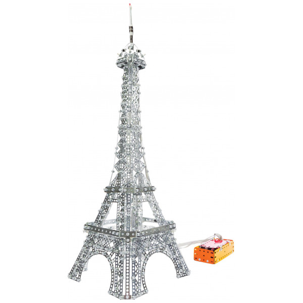 Meccano Lego 2 In 1 Eifel Tower And Brooklyn Bridge från Meccano