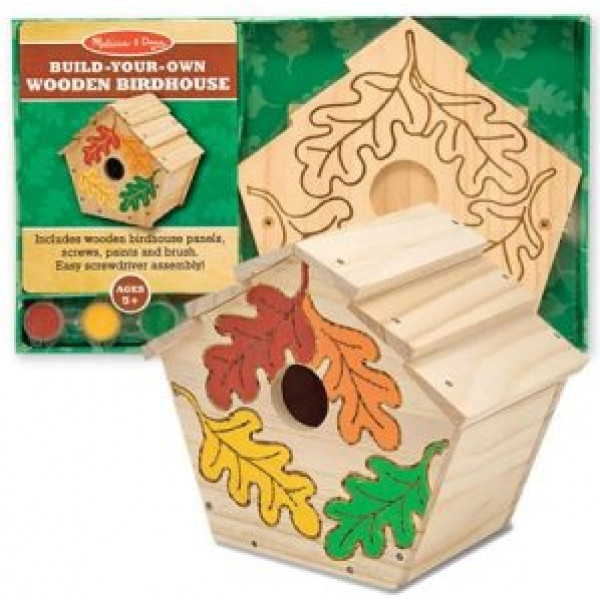 Melissa & Doug Build-Your-Own Wooden Birdhouse från Melissa & doug