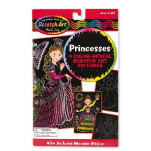 Melissa & Doug Color-Reveal Pictures - Princesses från Melissa & doug