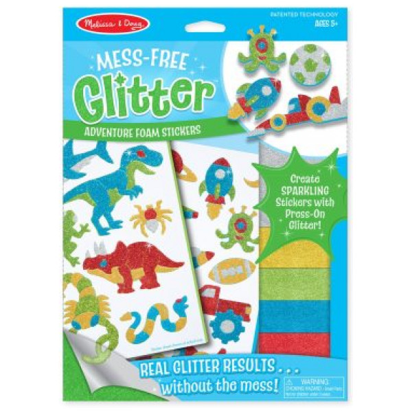 Melissa & Doug Cool Creatures Foam Stickers från Melissa & doug