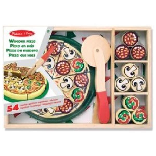 Melissa & Doug Köksleksak Wooden Pizza från Melissa & doug