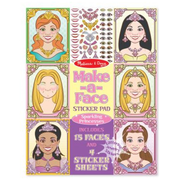 Melissa & Doug Make-A-Face Princesses från Melissa & doug