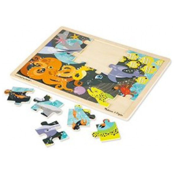 Melissa & Doug Pussel Under The Sea Jigsaw 24Pc från Melissa & doug