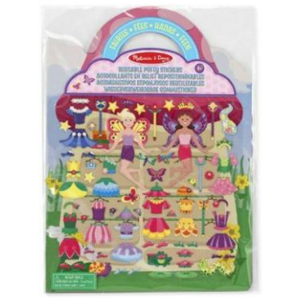 Melissa & Doug Reusable Puffy Stickers - Fairies från Melissa & doug