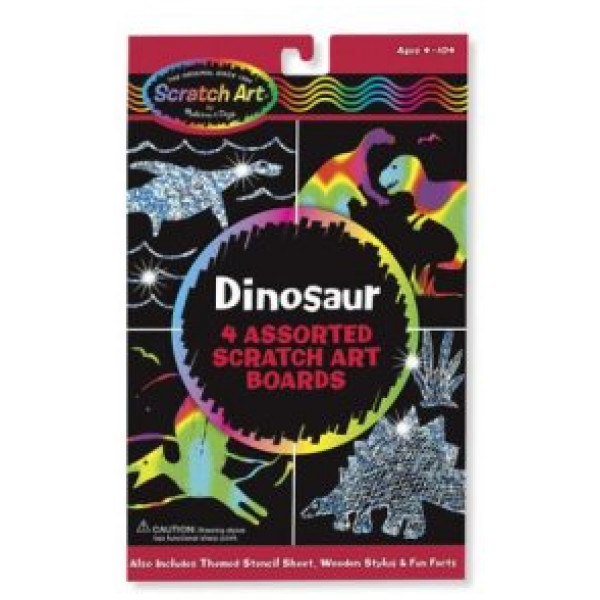 Melissa & Doug Scratch Magic Draw & Learn Dinosaur 3360 från Melissa & doug