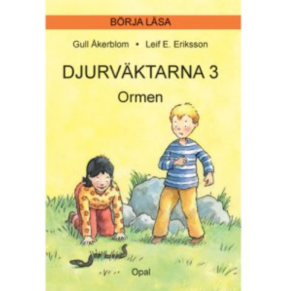Micki Barnböcker Djurväktarna 3 Ormen från Micki