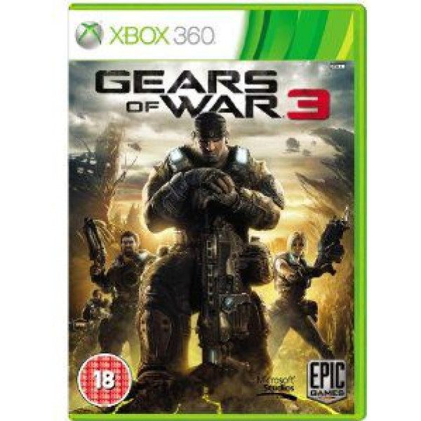 Microsoft Tv-Spel Gears Of War 3 från Microsoft